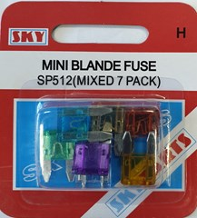 BULB SKY BLADE FUSE MINI SP512 (Pack of 10)