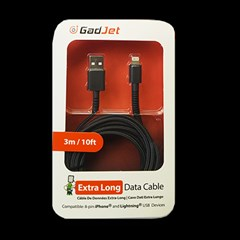 GADJET CABLE FOR iPHONE 5-10  3M (Minimum order 10)