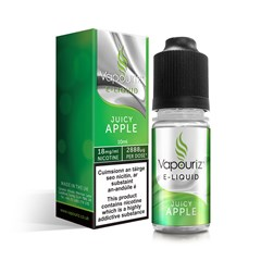 VAPOURIZ JUICY APPLE E-LIQUID 1.8 10ML (Box of 10)