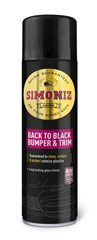 SIMONIZ BACK TO BLACK BUMPER & TRIM SHINE 500ML (Pack of 6)