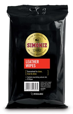 SIMONIZ LEATHER WIPES (Min order 6)