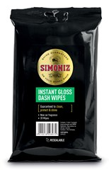 SIMONIZ DASHBOARD GLOSS WIPES (Min order 6)