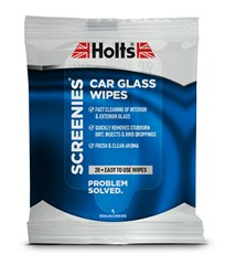 HOLTS® SCREENIES CAR GLASS WIPES (Pack of 12)