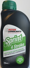 SPRINT 4-STROKE LAWNMOWER OIL 500ML