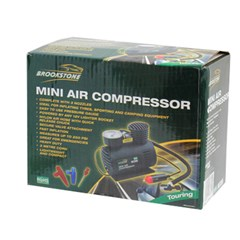 BROOKSTONE MINI AIR COMPRESSOR