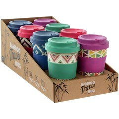 BAMBOO TRAVEL MUGS 350ML