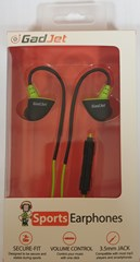GADJET SECURE FIT SPORTS EARPHONES