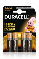 DURACELL BASIC AA LR6  (4 PACK)