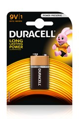 DURACELL PLUS POWER 9V  (1 Pack)