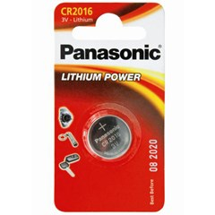 PANASONIC CR2016 3V COIN BATTERY
