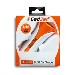 G SERIES DUAL CAR CHARGER 3.4 AMP