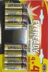 EVEREADY GOLD AA  4+4
