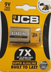 JCB 9V SUPER ALKALINE, PACK OF 1
