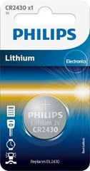 PHILIPS Lithium CR 2430 3V